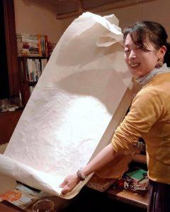 ロイヤルタヒチ・ノニピュアの梱包材を再利用